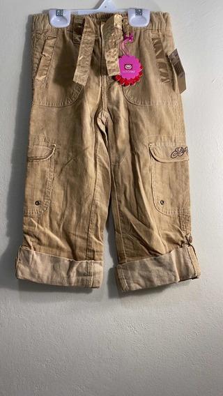 Pantalon Tipo Pana Eckored Beige