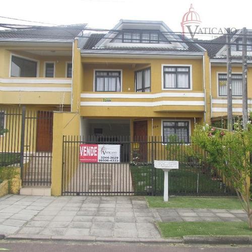 Sobrado Com 3 Dormitórios À Venda, 152 M² Por R$ 598.000,00 - Capão Raso - Curitiba/pr - So0101