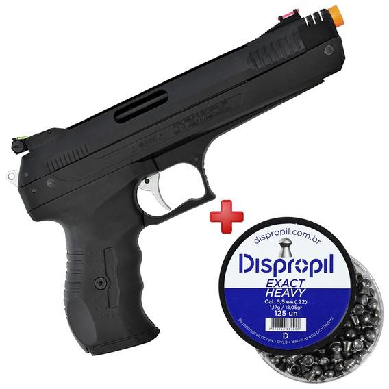 Pistola Pressão Chumbinho Beeman 5.5mm + Chumbinho 5.5mm 125