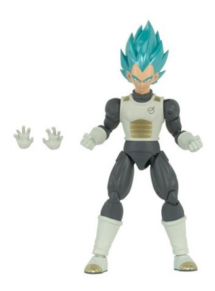 Figura Dragon Ball Articulado Saiyan Blue
