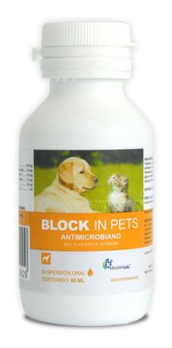 Block In Pets Suspensión 60 Ml Mederilab Perro Gato