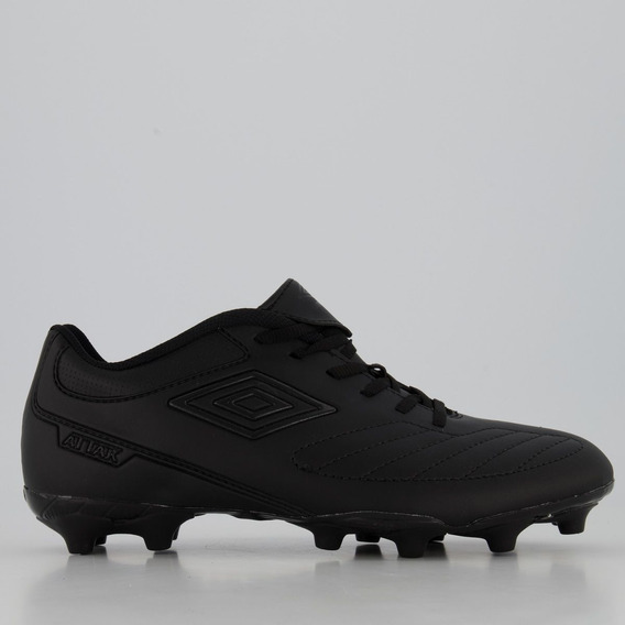 Chuteira Umbro Attak Ii Black Edition Campo