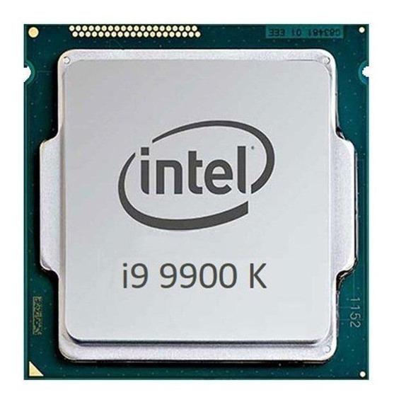 Processador gamer Intel Core i9-9900K BX80684I99900K de 8 núcleos e 5GHz de frequência com gráfica integrada