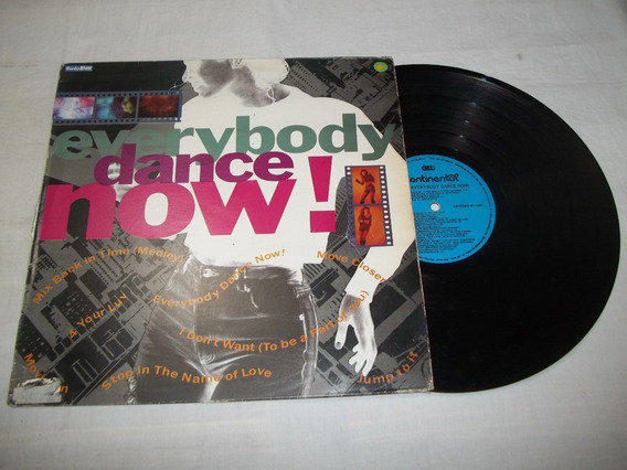 Lp Vinil - Everybody Dance Now - Mix Back In Time Medley