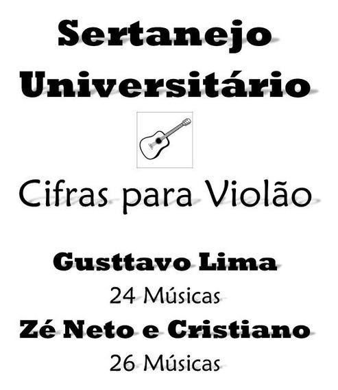 Apostila Sertanejo Universitário 50 Musicas Para Violão