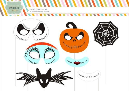 Props Jack - Halloween - Photobooth - Props Infantiles