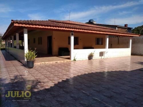 Imagem 1 de 26 de Chácara Com 3 Dormitórios À Venda, 1625 M² Por R$ 400.000,00 - Morada Do Sol - Mongaguá/sp - Ch0011