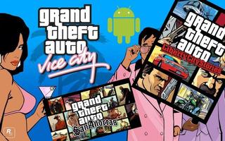 Pack Juego Gta: Liberty City Stories, Vice City, San Andreas