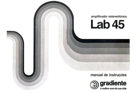 Manual Em Pdf Amplificador Gradiente Lab 45