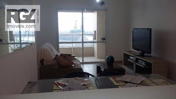 Apartamento Residencial Para Venda E Locação, Ponta Da Praia, Santos - Ap0403. - Ap0403