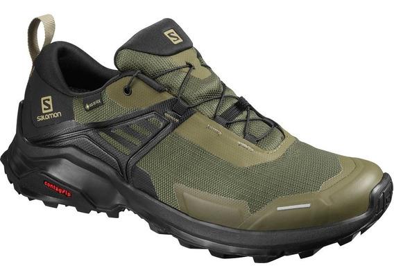 Zapatillas Salomon X Raise Gtx - Trail Run Goretex - Salas
