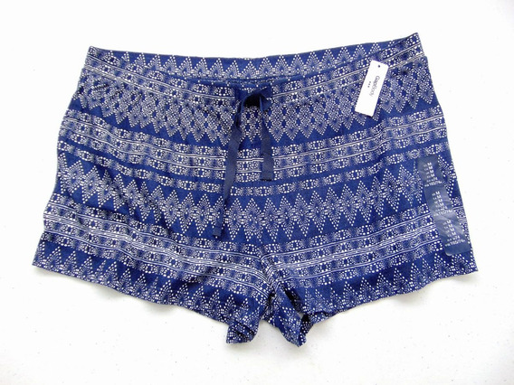 Gap Cotton Shorts Comfy Chill Blue Navajo Extrasuaves