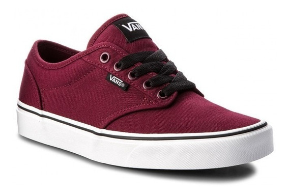 Zapatillas Vans Atwood Color Bordo Skate - Vn000tu8j3