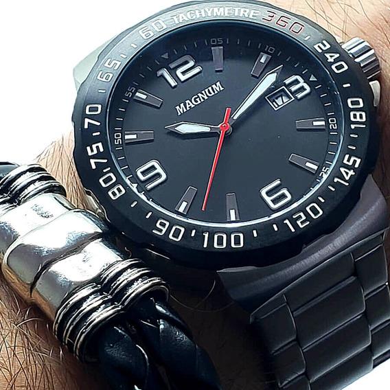 Relógio Masculino Magnum Com Garantia E Nota Fiscal