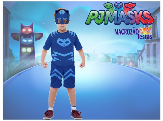 Fantasia Menino Gato Pj Masks Lançamento