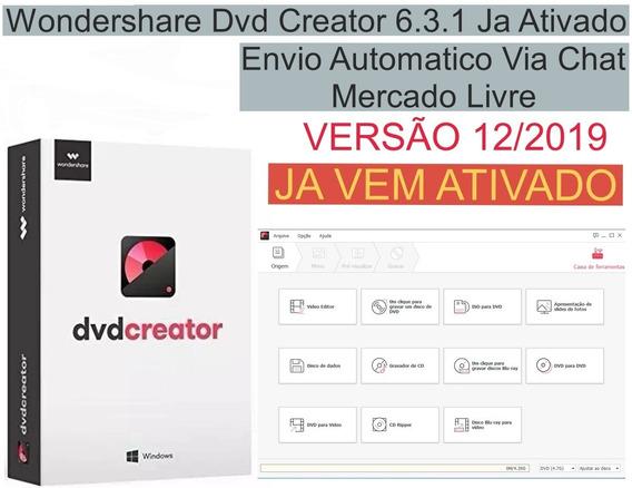 Wondershare Dvd Creator 6.3.1 Português Envio Imediato.