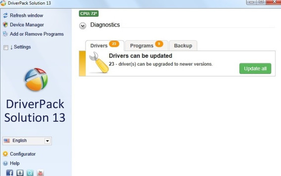 Driver Pack Solution 13 Drivers Windows Xp, 7 ,8 , 8.1,10