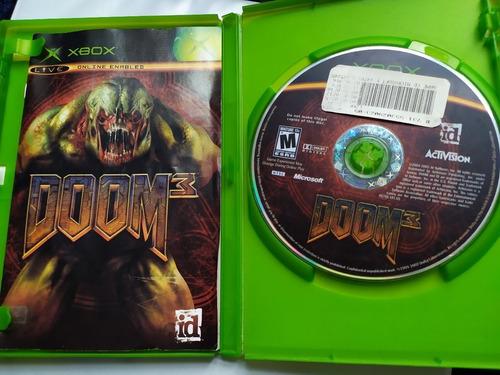 Doom 3 Usado Original Usa Xbox Midia Fisica.