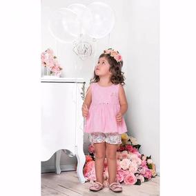 Conjunto Para Bebe Menina - Paraíso Moda Bebê