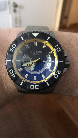 Relógio Technos Acqua 8000 Special Collection Titanium Diver