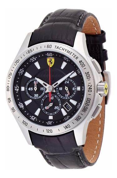 Relógio Ferrari Chronograph Analógico 0830039 Sf105 Black