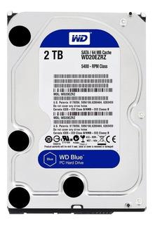 Disco Rigido 2tb Wd Western Digital Caviar Blue Sata
