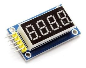 Módulo Display Serial 7 Segmentos 4 Bits Arduino *100307