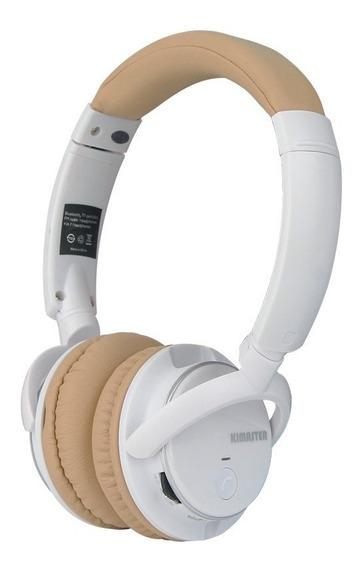 Fone Bluetooth Kimaster K1 Preto Som Limpo E Potente