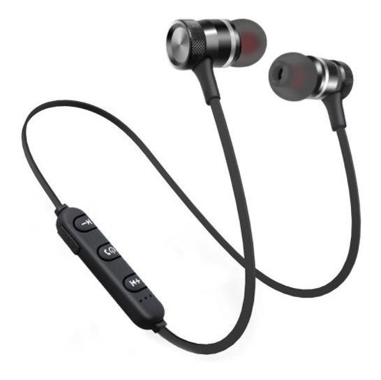 Fone Bluetooth Overfly H19 Magnético Preto