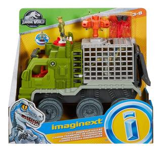 Imaginext Jurassic World Transportador De Dinosaurios