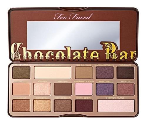 Chocolate Bar Paleta De Sombras Too Faced Mercado Libre