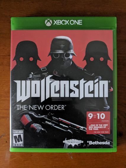 Wolfenstein The New Order Xbox One Midia Fisica