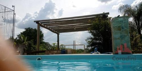 Imagem 1 de 9 de Chácara Com 2 Dormitórios À Venda, 1200 M² Por R$ 400.000 - Chácara Recanto Das Orquídeas - Monte Mor/sp - Ch0145