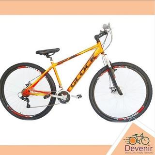 Bicicleta Glock Acero Shimano R 29 Disco Susp 21v