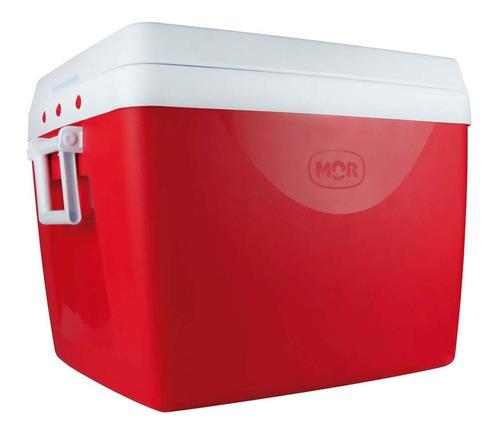 Caixa Térmica 75 Litros Vermelha Com Alça Mor
