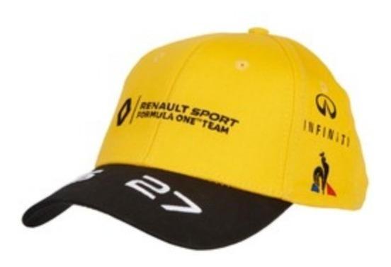 Gorra Escudería Renault F1 ¡original 100%!