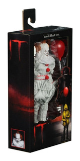 Neca It 2017 Pennywise 8 Inch Clothed