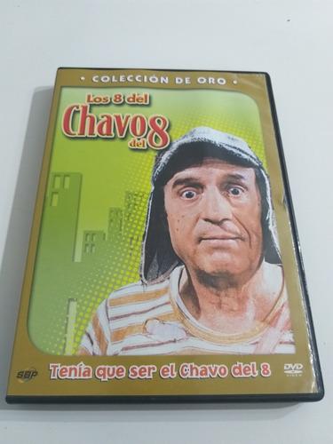 Dvd Los 8 Del Chavo Del 8 - Colección De Oro