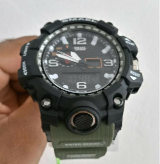 Relógio Smael Esporte Para Homens 1545 Montre Prova D