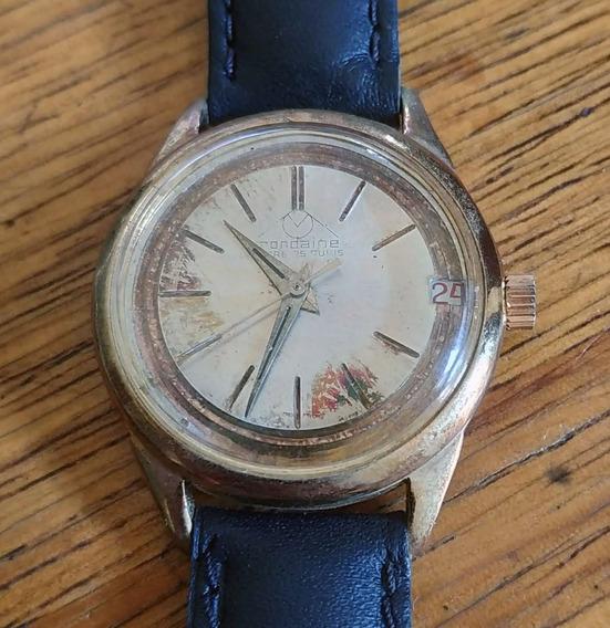 Relógio Mondaine Sky Hawk 25 Rubis - À Corda - Antigo