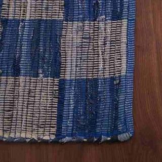 Alfombra Mysore Azul/blanco 120x180 Okko