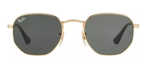 Óculos De Sol Ray-ban Hexagonal Flat Lenses Original