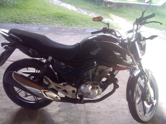 Honda Cg 160 Fan Preta 17/18