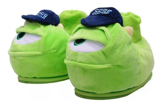 Pantufla Mike Wazowski Monster Inc Addnice Peluche Disney Ps