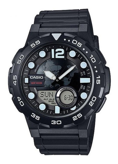 Relógio Casio Telememo Aeq-100w-1avdf