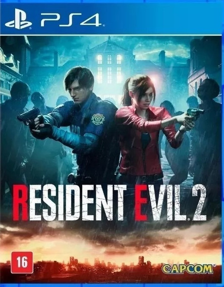 Resident Evil 2 Ps4 Midia Fisica Lacrado **pronta Entrega**