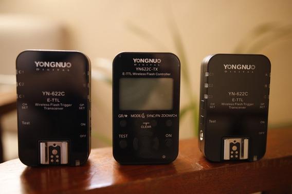 Kit Radio Flash Yongnuo Para Canon