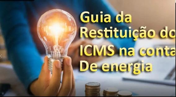 Guia Em Dvd Para Reembolso Do Icms Da Conta De Luz, Restituição Do Icms Pago Na Conta De Energia Elétrica