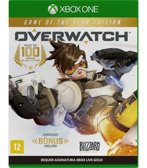 Overwatch Game Of The Year Ed (mídia Física) Xbox One (novo)