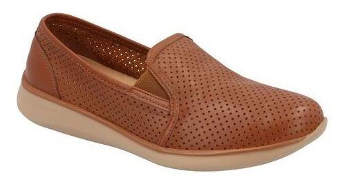 Zapato Flats Comodo Flexi Mujer Miel M467559